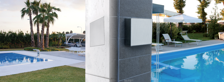 exteriors diffusers for pools with built-in or in-view structure