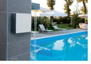 diffusore per esterno piscina - outdoor speaker