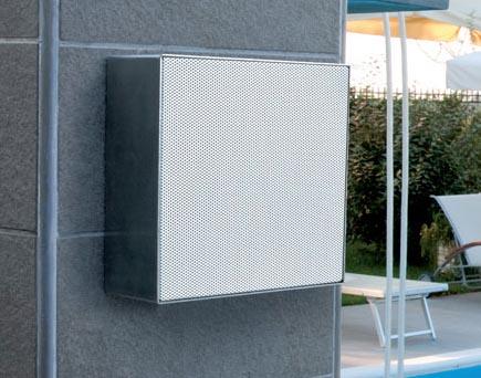 Sim15m Diffusore Da Esterno Audio Piscine Sauna