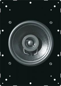 diffusori acustici piatti particolare frontale