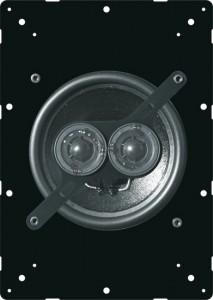 diffusore acustico stereo vista frontale
