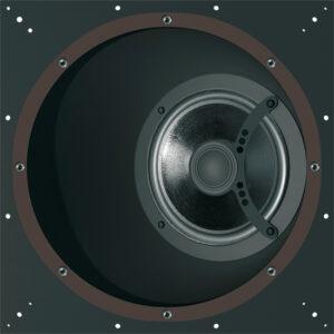 diffusori acustici incasso parete orientabili