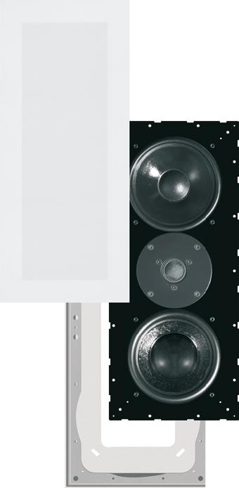 sim316_onwall_foto Плоские акустические колонки с пассивным радиатором