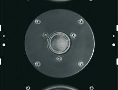 SIM316 cassa acustica con radiatore passivo per incasso filo raso parete