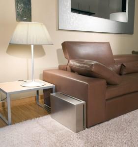 wax120_ambientazioni_2 Стальной плоский сабвуфер у дивана