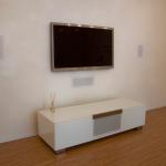 Impianto home casa con diffusori da incase