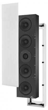 Home Threatre acoustic diffuser available in plasterboard wall or wall mounting