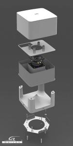diffusore Garvan SA120 solosuono progetta audio in outddor sfuttando le potenzailità di questo diffusore