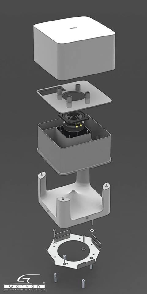 Garvan SA120 - diffusore per esterni - Solosuono.com