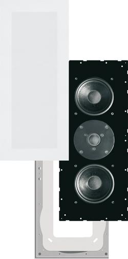 Garvan 3 vie - esploso - diffusori acustici in configurazione d'appolito
