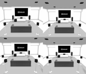 configurazioni dolby