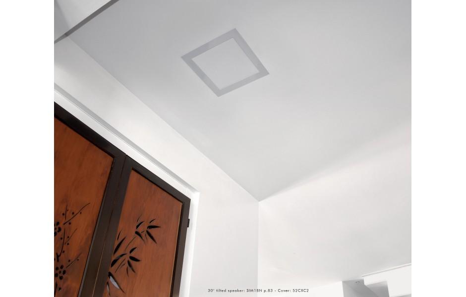 Questi diffusori sono invisibili e possono essere installati ad incasso!