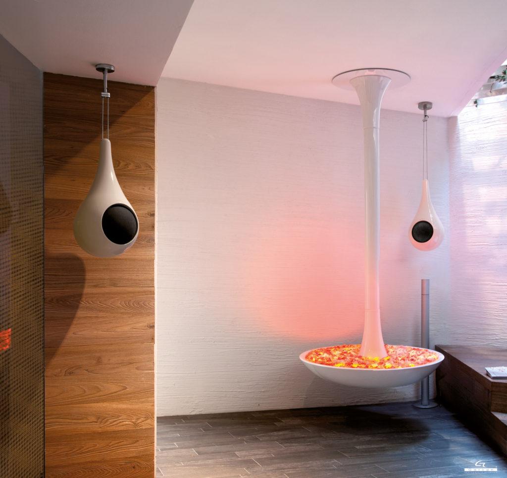 Diffusori a Goccia design e acustica si incontrano nella ceramica di Faenza