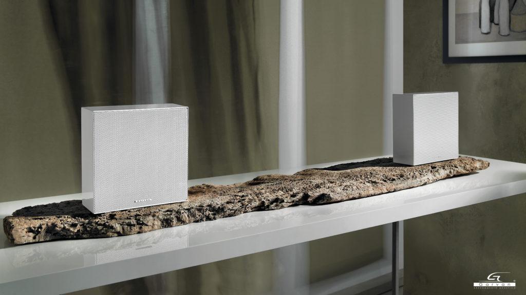 Coro Diffusore acustico da appoggio o diffusore Bookshelf , lo stile minimal personalizzabile per un design moderno e integrato