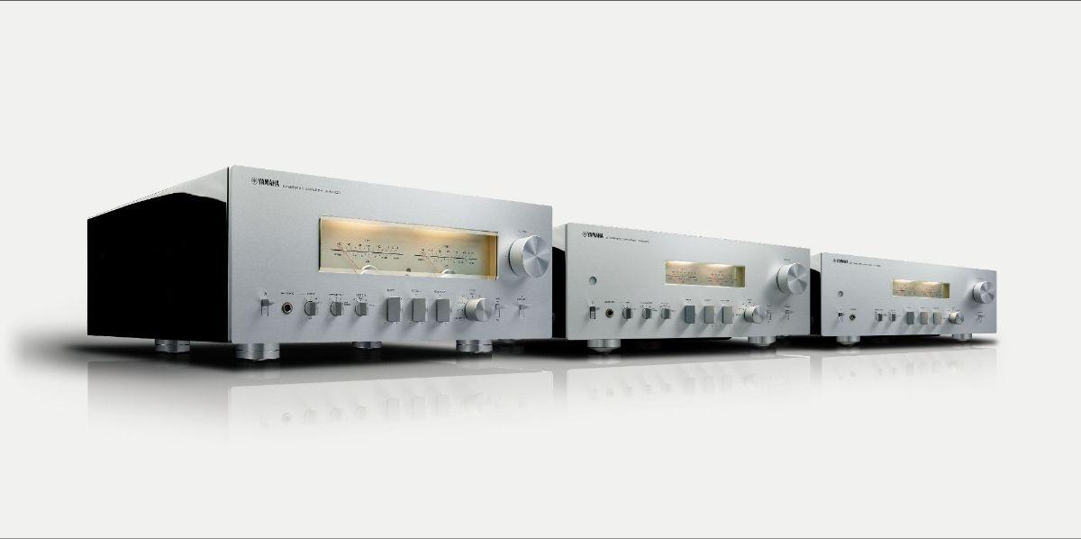 I nuovi amplificatori stereo Yamaha Serie A-S