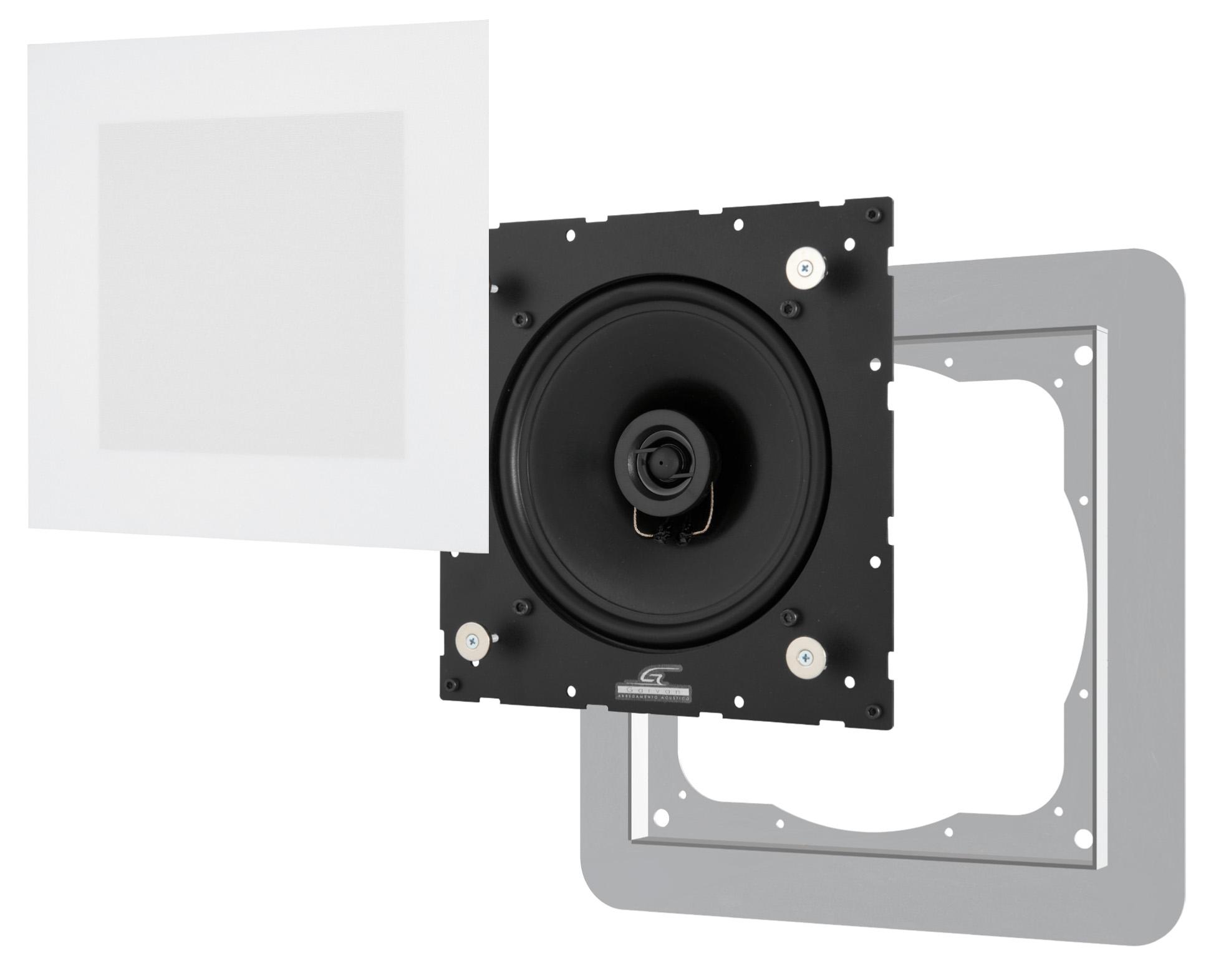 Sic117 garvan diffusori acustici filo muro