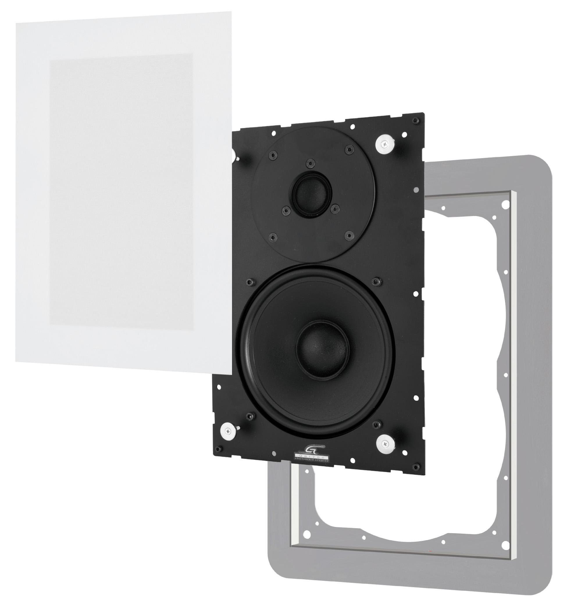 Sic216 Garvan diffusori acustici da incasso filo muro