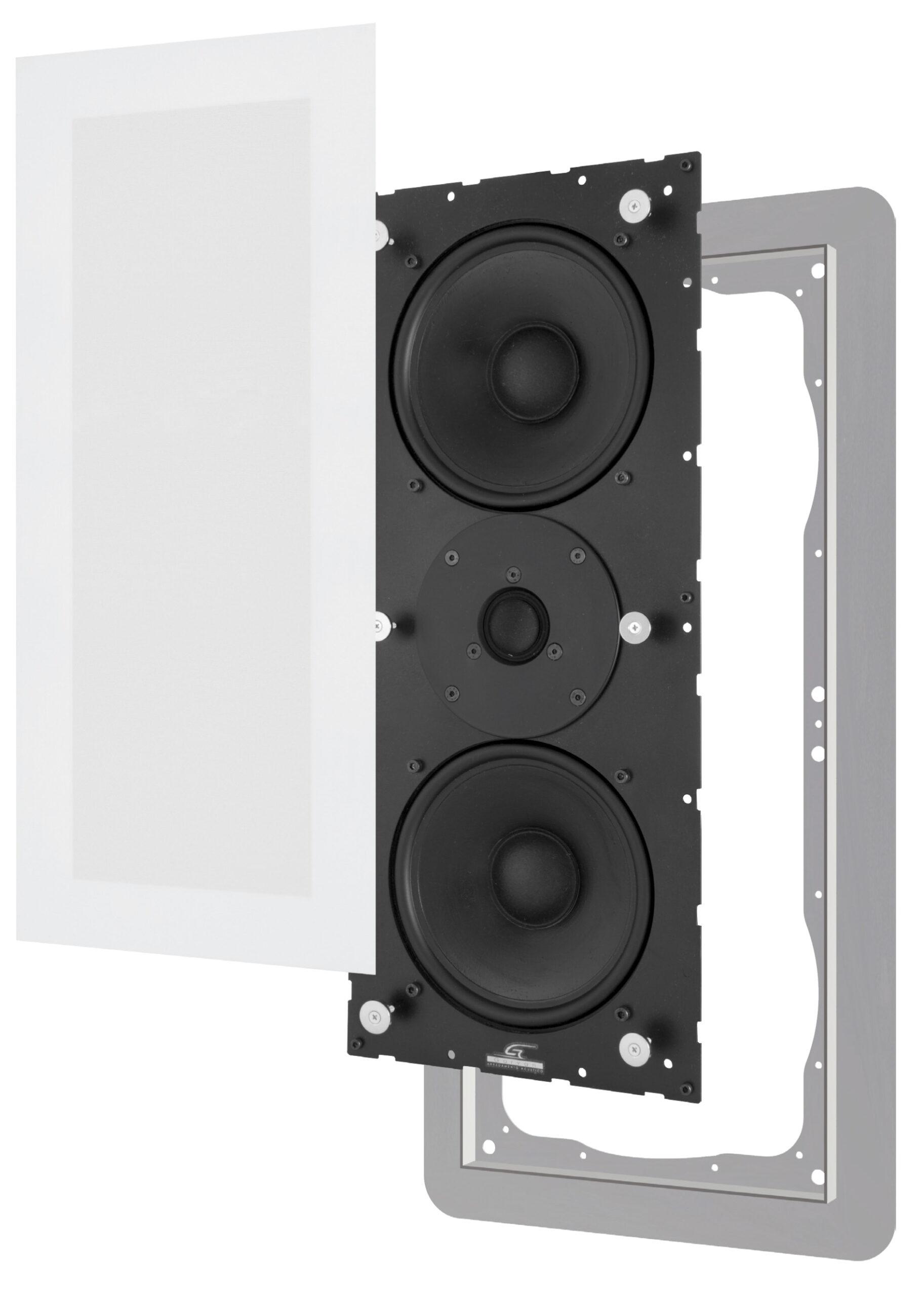 Sic316 Garvan diffusori da incasso LCR per Home Cinema