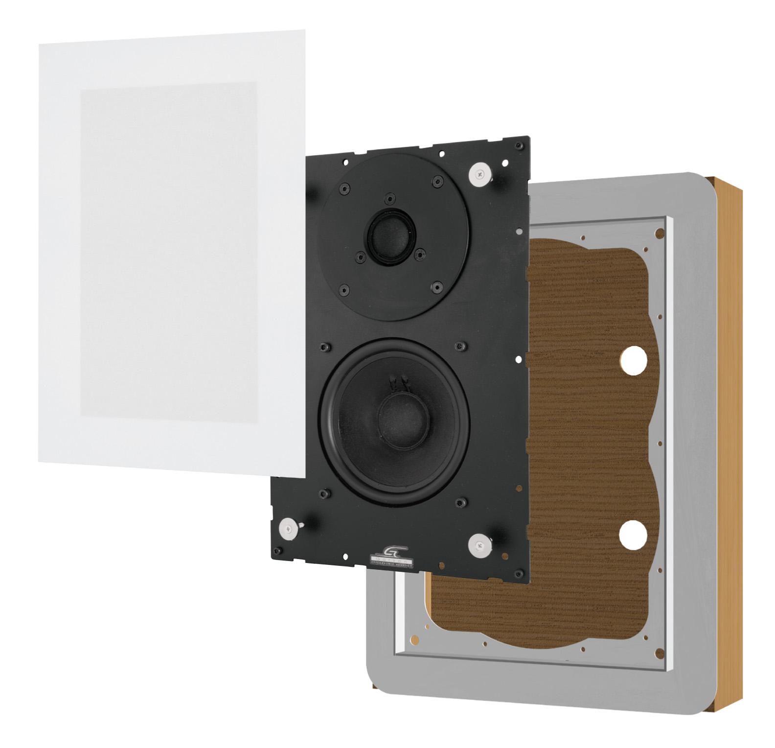 Sim213 Garvan diffusori da incasso filo muro